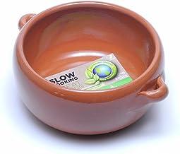 Graupera スペイン製 カスエラ 深型 両手鍋 アヒージョ用 直火 オーブン 耐熱 陶器 土鍋 13cm