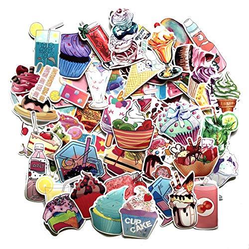 wawale Roze drank stickers, koffer skateboard gitaar decoratie auto mobiele telefoon doodle stickers (140 foto's)