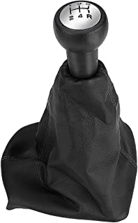 Gear Shift Cover, Keenso 5 Speed Gear Shift Stick Knob Dust-proof Cover Gaiter
