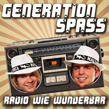 Radio wie wunderbar