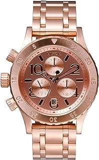 nixon women's 38-20 crystal chrono watch