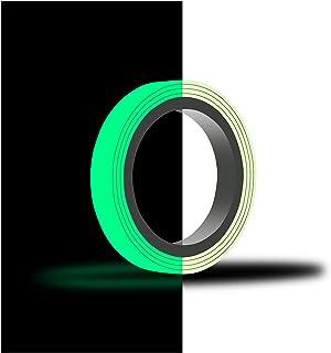10 m sierstrip 's nachts oplichtend (€ 0,89 / m) film zelfklevend oplichtend plakband fluorescerend sterke helderheid (7mm...