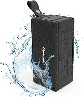 Auseins Bluetooth スピーカー ワイヤレス ブルートゥーススピーカー スマホ アイフォン 無線 音楽 スピーカー コンパクト 小型 高音質 ステレオ 防水 アウトドア 持ち運び microSDカード対応