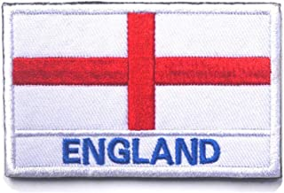 England flagga St Georges Cross broderad airsoft paintball cosplay lapp