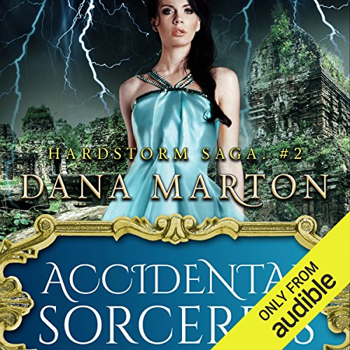 Accidental Sorceress audiobook cover art