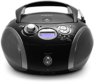 Roberts Radio ZoomBox 3 DAB/DAB+/FM/SD/USB Radio with CD Player - Black