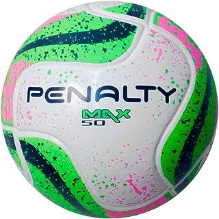 d5875a283b Bola Futsal Max 50 Term VII Penalty - Branco Verde Rosa