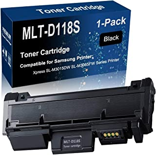 1-Pack Compatible High Yield Black MLT-D118S MLT D118S Printer Toner Cartridge use for Samsung Xpress SL-M3015DW SL-M3065FW Series Printer