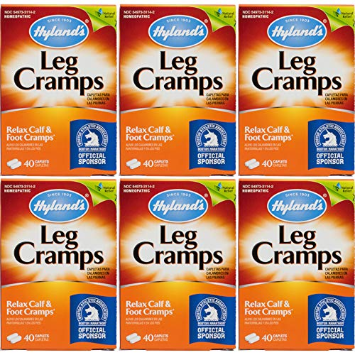 Hyland's Leg Cramps, Caplets, 40 ct. (Pack of 6) (Best Treatment For Charley Horse)