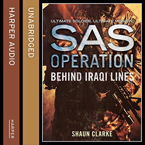 Behind Iraqi Lines (SAS Operation) audiobook cover art