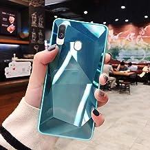 URFEDA Compatibel met Samsung Galaxy A40 telefoonhoesje Diamond Glitter Case met spiegeleffect Sparkly Bling TPU Siliconen...
