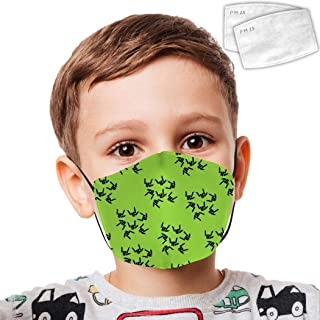 Washable Kid Face Cover Mask Share_The_Stephen_Love Child Dust Mask Reusable Cover