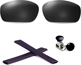 Walleva Polarized Lenses + Rubber + Bolt for Oakley Jawbone - Multiple Options Available