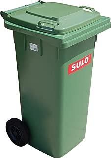 Cubo de basura 2 ruedas, contenedor a basura SULO 120 L,