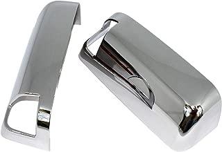 Carrichs Chrome Mirror Covers 2010-2016 Ram 1500 Top Half, W/ Towing Mirrors & Turn Signals (MCDO107)