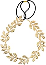 Lux Accessories Goldtone Goddess Leaf Head wrap