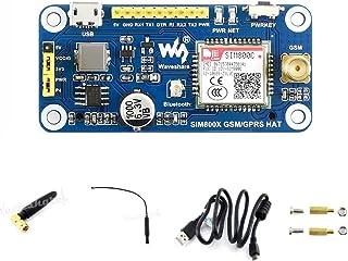 waveshare GSM/GPRS/Bluetooth HAT for Raspberry Pi 3B+/3B/2B/Zero/Zero W Based on SIM800C,..