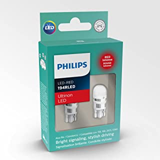 Philips 194ALED Ultinon LED Red