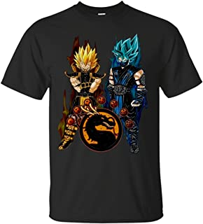 dragon ball z mortal kombat shirt
