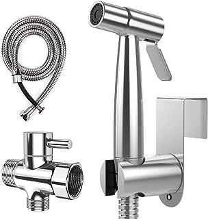 Handheld Bidet Sprayer,U-HOOME Premium Stainless Steel Bathroom Bidet Sprayer Set, Baby Cloth Diaper Sprayer with Superior...