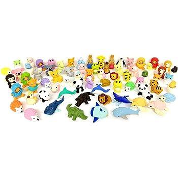 SMILEY Emoji gomme à effacer caoutchouc enfant Sac De Fête pinata Filler Toy 2.5 cm