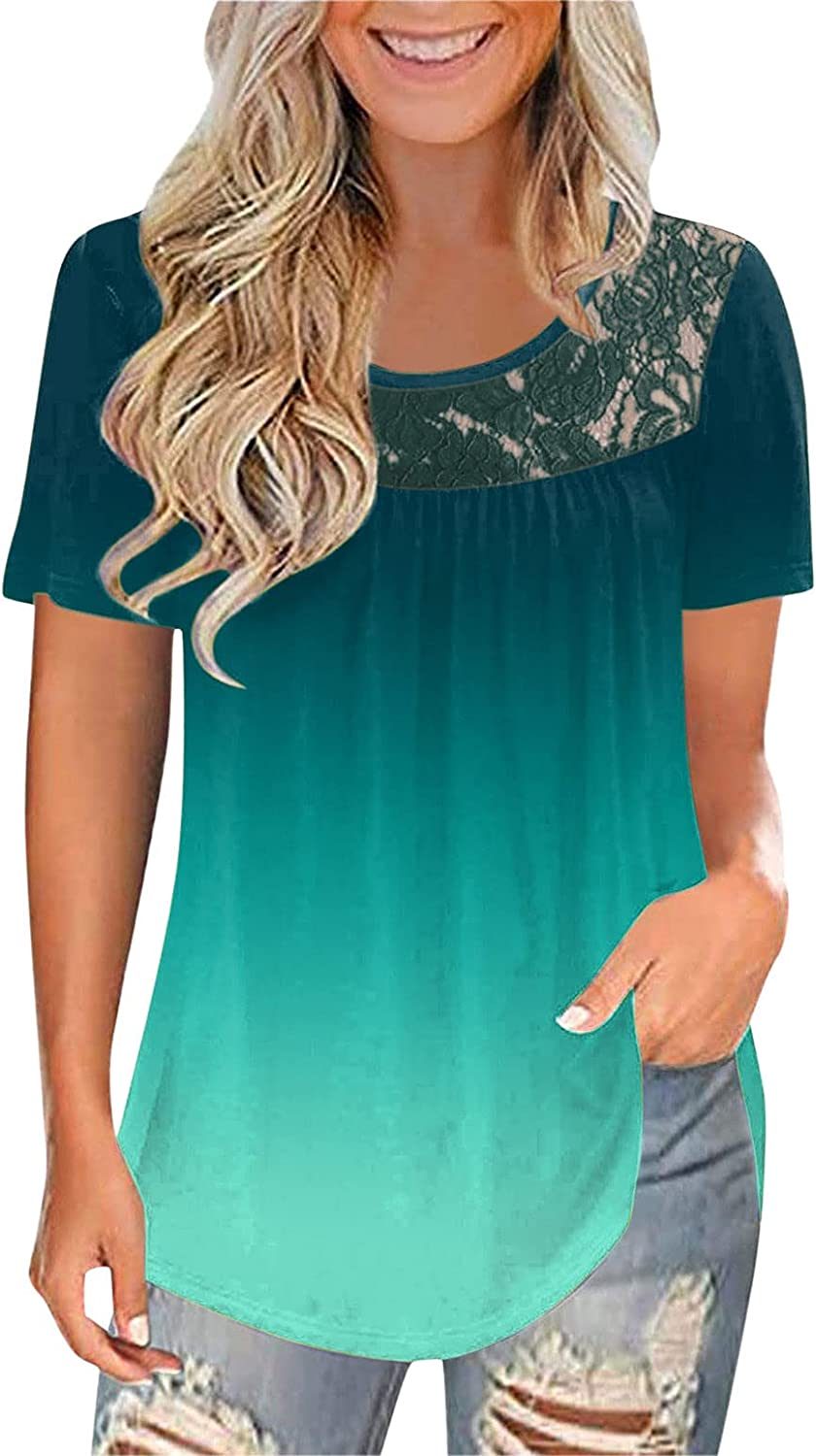Women Casual Loose Fit Long Sleeve Shirts Tunic Comfy Ploral Printed Tops Tee Shirt Pullovers