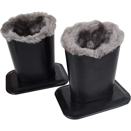 Portable Black Plush Lined Eyeglass Holder Storage Protective For Desk Table RF