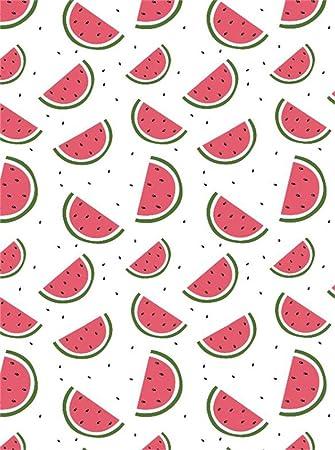 Amazon Com Leowefowa 5x7ft Watermelon Backdrop Summer Fruits Wallpaper Backdrops For Photography Fruits Shop Interior Room Wallpaper Vinyl Photo Background Kids Adults Portraits Studio Props Camera Photo