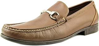 Sandro Moscoloni Men's Malibu Brown Leather Bit Loafer