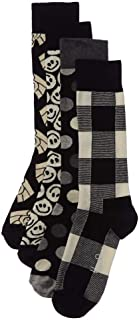 happy socks black white gift box
