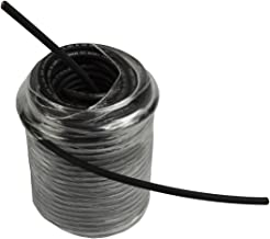 Temco 10 AWG Solar Panel Wire 100' Power Cable Black UL 4703 Copper Made in USA PV Gauge