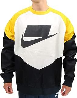black and yellow nike sweater