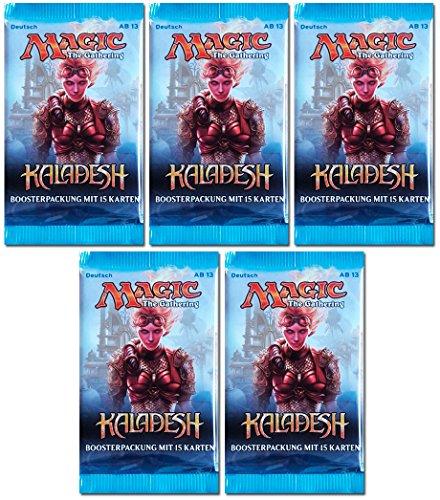 Magic the Gathering MTG Kaladesh - 5x Booster Pack - Deutsch - German
