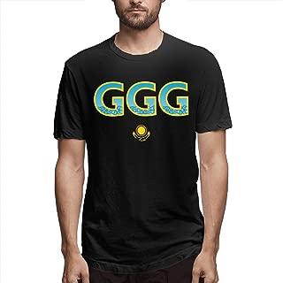 GGG Boxing Mens Cotton T-Shirt Funny T Shirt Graphic T-Shirt
