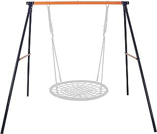 HomGarden Heavy Duty All-Steel A-Frame Set Swing Stand 72