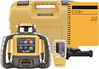 Topcon RL-H5A Self Leveling Horizontal Rotary Laser with Bonus EDEN Field Book| IP66..