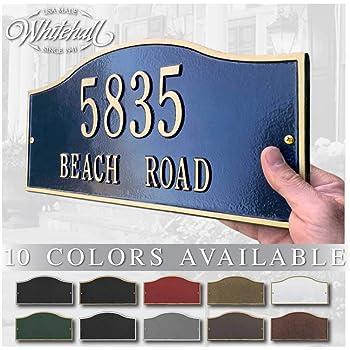 Cash Only CGSignLab 27x18 Stripes Blue Premium Brushed Aluminum Sign