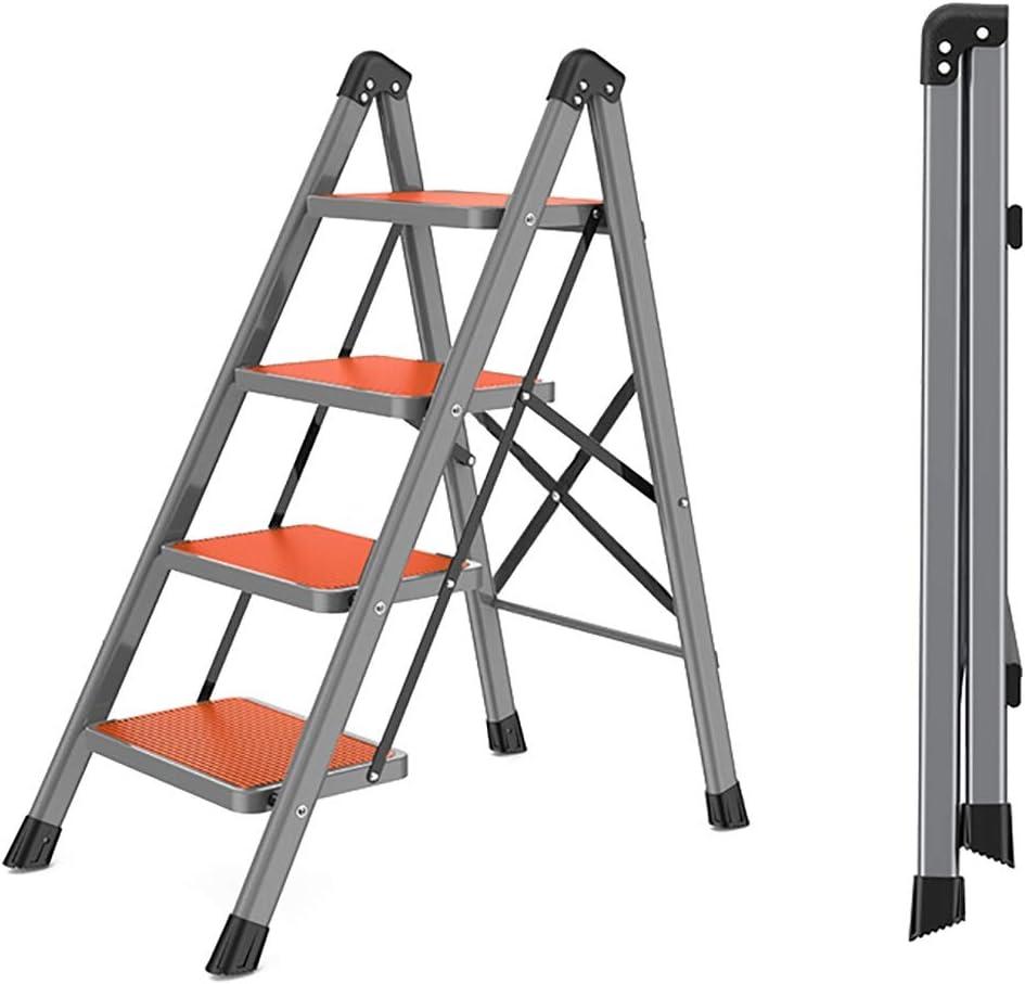 WSNBB 4 Under blast sales Step Challenge the lowest price of Japan ☆ Ladder Shelf with Steel Folding Lightweight Carbon