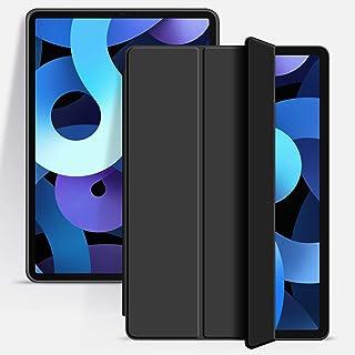 KenKe 新型 iPad Air4 ケース 2020 iPad 10.9 インチ 超軽量 柔らかいシリコン TPU材質カバー 3段階折り畳み可 スタンド マグネット付き 自動スリープ機能 10.9インチ iPad Air 第4世代 に対応 (...