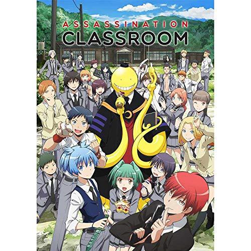 BLOUR Póster de Papel Recubierto de Anime Assassination Classroom A3