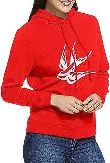 Mendes 1998 Bird Tattoo Adult Hooded Sweatshirt Pullover Womens