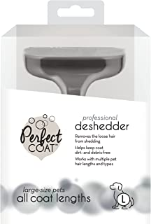 Perfect Coat P-91101AU Deshedder Comb Brush for Large Dogs