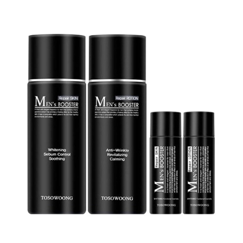 ディンカルビル拡張マルコポーロトソウン?マンズ?ブースタースキン(150+30ml) ローション(150+30ml)、男性用化粧品、Tosowoong Men's Booster Skin(150+30ml) Lotion(150+30ml) [並行輸入品]
