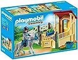 Playmobil-Caja de caballos-Appaloosa Figuras de Juguete, multicolor, Sin tañosllaños (6935)
