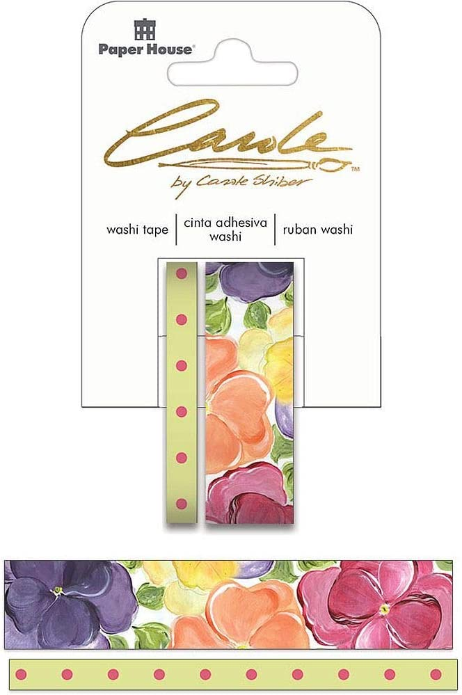 Paper New products world's highest quality popular House Productions Carole In a popularity Shiber Painted of 2 Pansies F Set