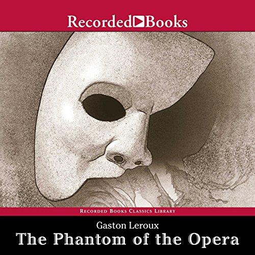 The Phantom of the Opera audiobook cover art