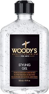 Woody's Styling Gel, 12 ounce