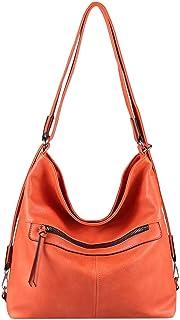 OBC Damen Tasche Rucksack 2 in 1 Schultertasche Umhängetasche Shopper Daypack Leder Optik Rucksacktasche Backpack Freizeit...