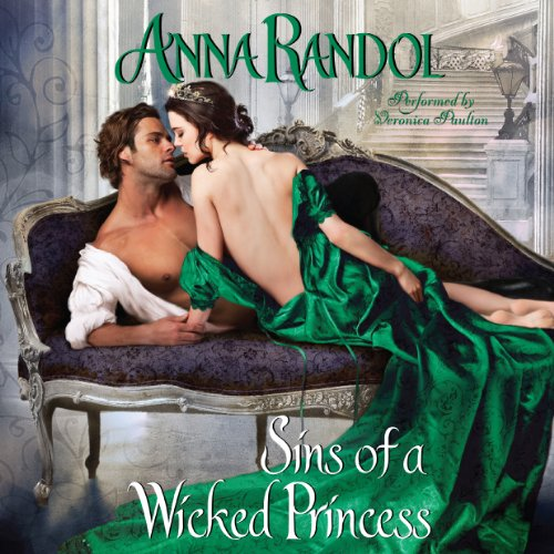 Sins of a Wicked Princess audiobook cover art