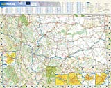Montana State Wall Map - 22.5' x 17.5' Paper